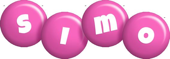 Simo candy-pink logo