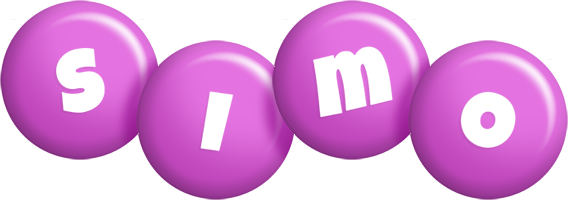 Simo candy-purple logo