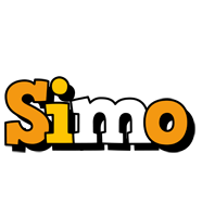 Simo cartoon logo