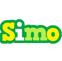 Simo soccer logo