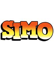 Simo sunset logo