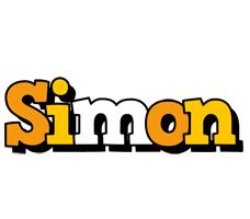 Simon cartoon logo