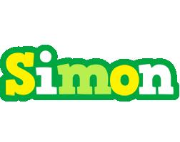Simon soccer logo