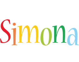 Simona birthday logo