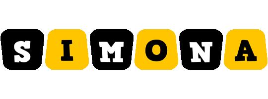 Simona boots logo