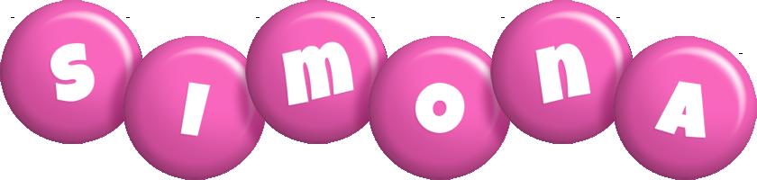 Simona candy-pink logo