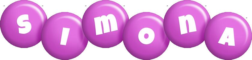 Simona candy-purple logo