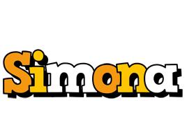 Simona cartoon logo