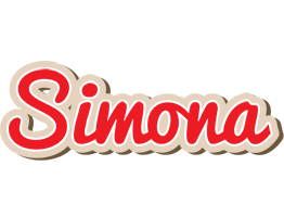 Simona chocolate logo