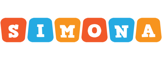 Simona comics logo