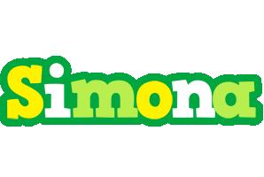 Simona soccer logo