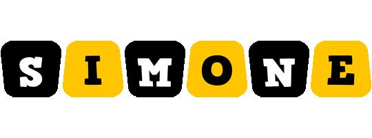 Simone boots logo