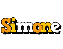 Simone cartoon logo