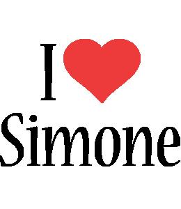 Simone i-love logo