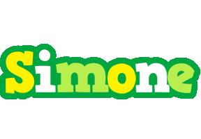 Simone soccer logo
