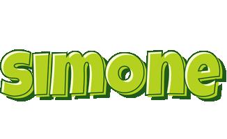 Simone summer logo