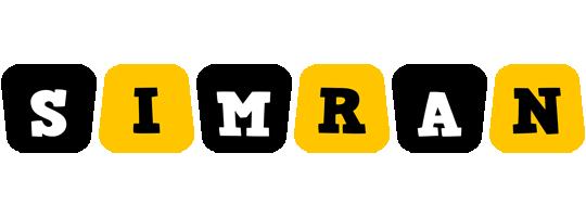 Simran boots logo