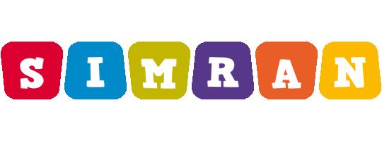 Simran daycare logo