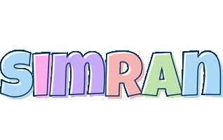 Simran pastel logo
