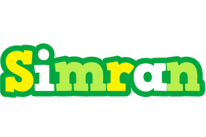 Simran soccer logo