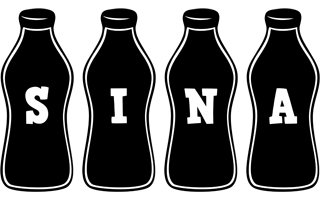 Sina bottle logo