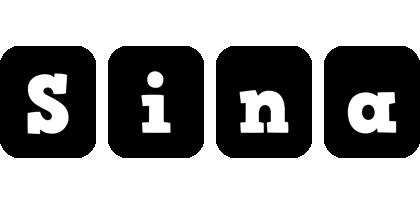 Sina box logo