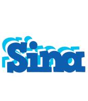 Sina business logo