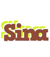 Sina caffeebar logo