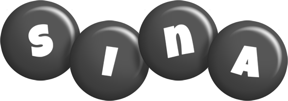 Sina candy-black logo