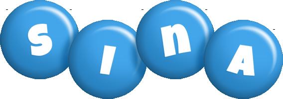 Sina candy-blue logo