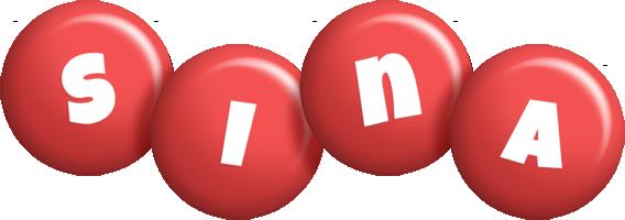 Sina candy-red logo