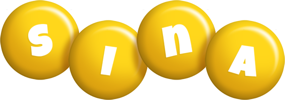 Sina candy-yellow logo
