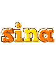 Sina desert logo