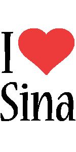 Sina i-love logo
