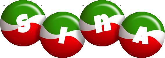 Sina italy logo