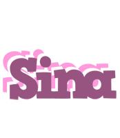Sina relaxing logo