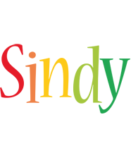 Sindy birthday logo