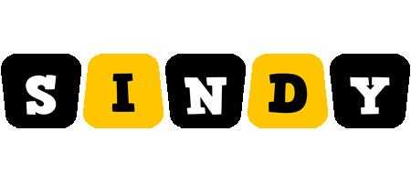 Sindy boots logo
