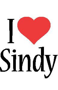 Sindy i-love logo