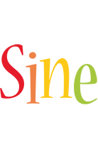 Sine birthday logo