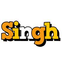 Singh cartoon logo