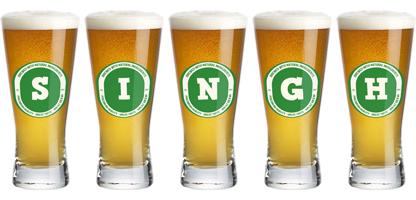 Singh lager logo