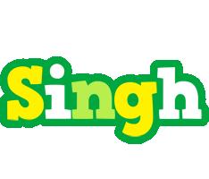 Singh soccer logo