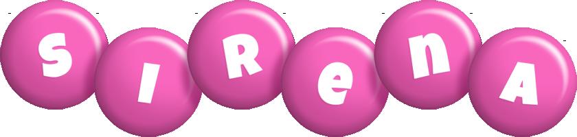 Sirena candy-pink logo