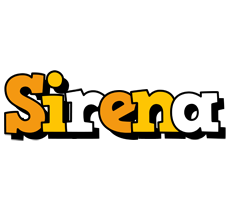Sirena cartoon logo