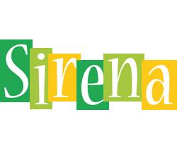 Sirena lemonade logo