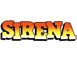 Sirena sunset logo