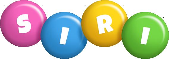 Siri candy logo
