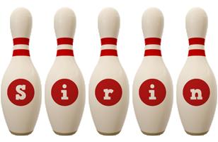 Sirin bowling-pin logo