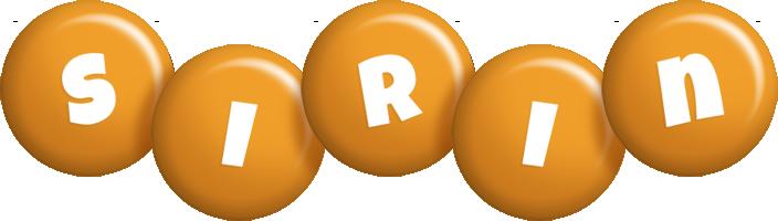 Sirin candy-orange logo